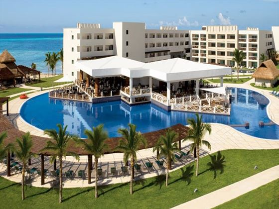 View of Secrets Silversands Riviera Cancun resort