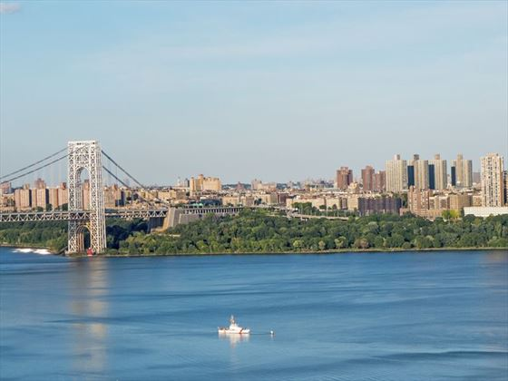 View of Upper Manhattan
