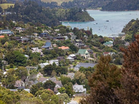 View over Russell, Bay of Islands