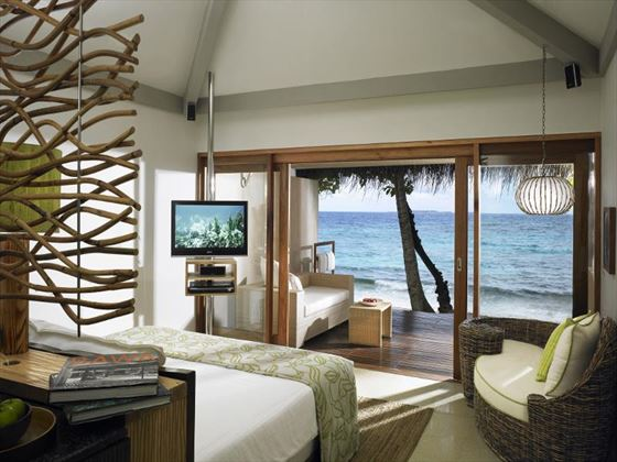 Views from the Beach Villa at Vivanta by Taj Coral Reef
