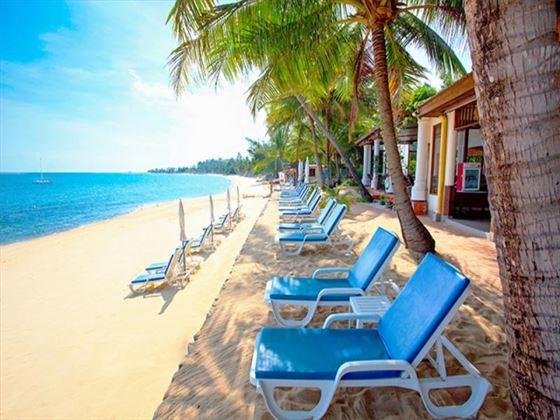 Views of the beach at Paradise Beach Resort
