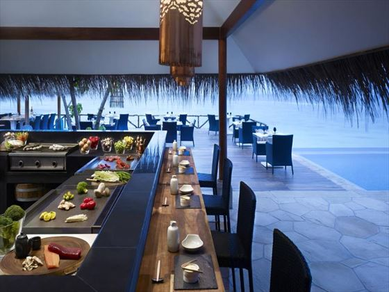 Vivanta by Taj Coral Reef poolside grill