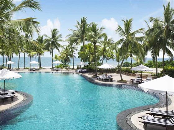 The pool at Vivanta by Taj