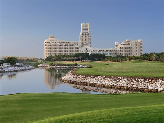 Waldorf Astoria Ras Al Khaimah exterior and golf course