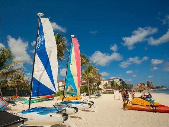 Water sport activities at Breezes Bahamas