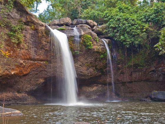 Waterfall at Khao Yai