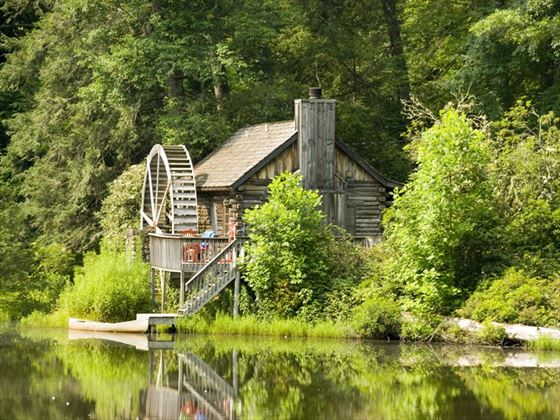 Watermill in rural North Carolina
