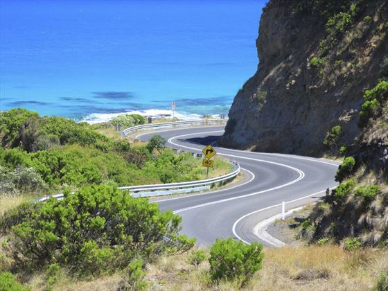 The long and winding Great Ocean Road