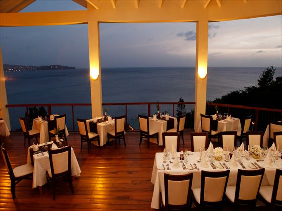 Windsong restaurant at Calabash Cove