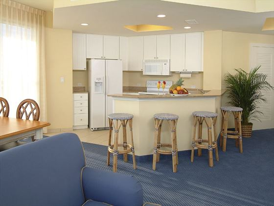 Kitchen in White Sands Apartment