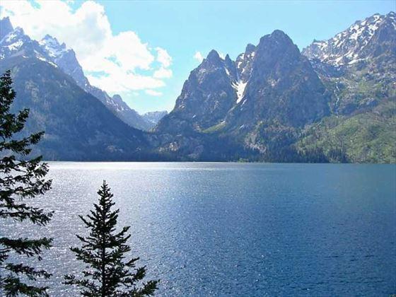 Grand Tetons National Park Lake
