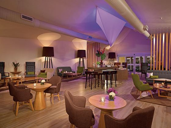 Xhale Club lounge at Breathless Punta Cana Resort & Spa