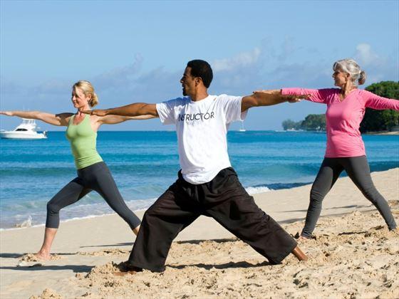 Yoga at Waves Hotel & Spa