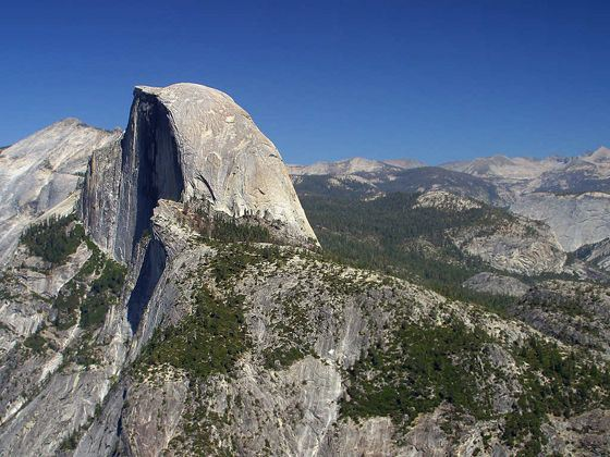 Half Dome Mountain, Yosemite National Park