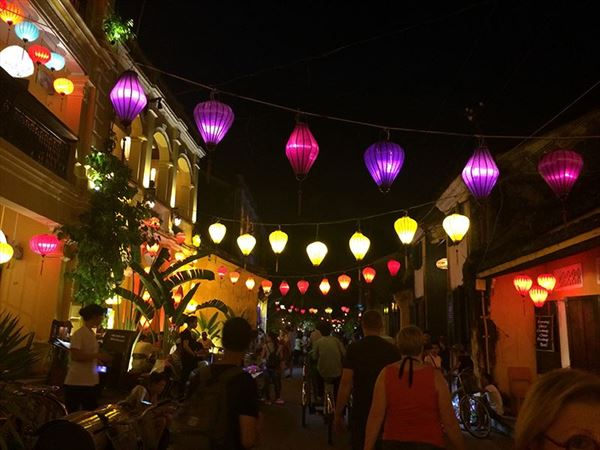 claire aldegather pretty lanterns in vietnam