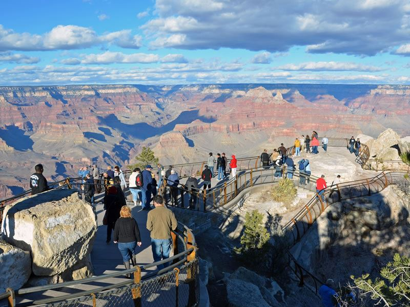 Mather Point, South Rim, Grand Canyon, Arizona