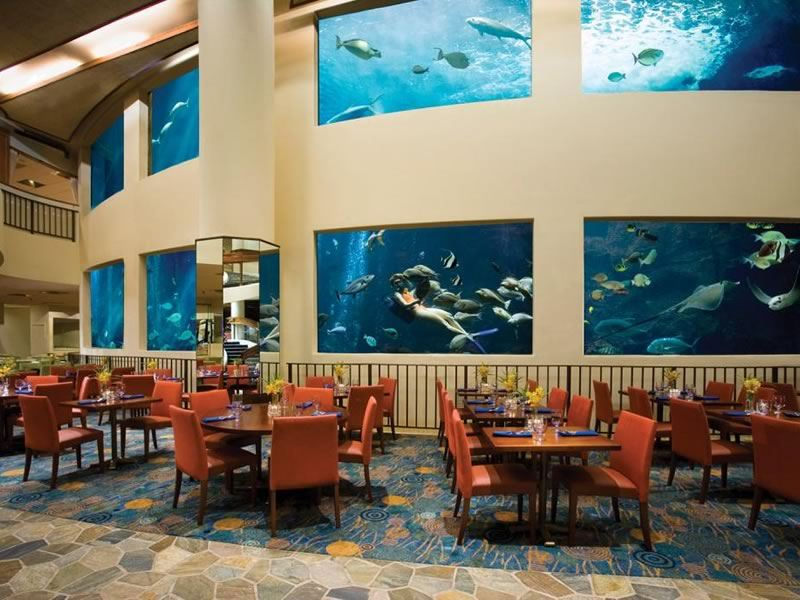 The Oceanarium Restaurant, Pacific Beach Hotel, Waikiki, Hawaii