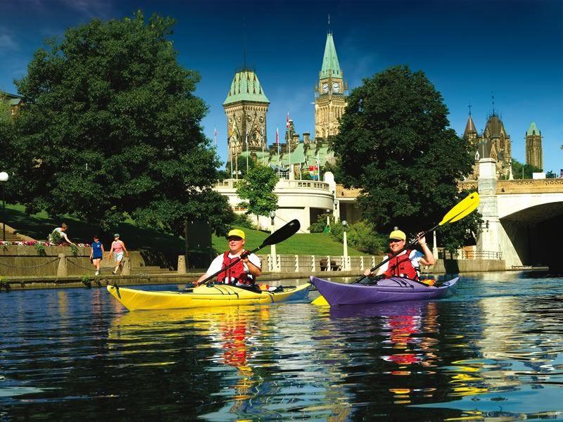 Rideau Canal Ontario Ottawa CR