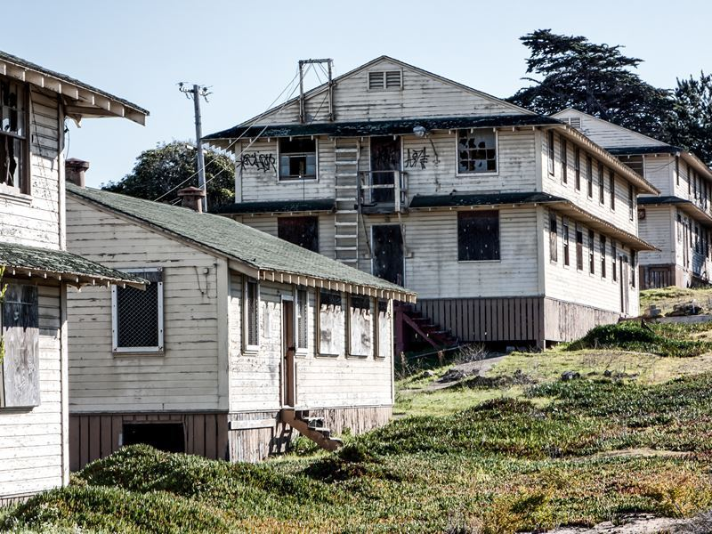 abandoned fort ord army post