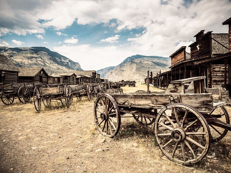 abandoned wild west town wyoming