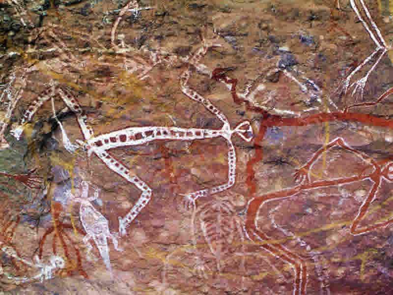 aboriginal art nourlangie northern territory