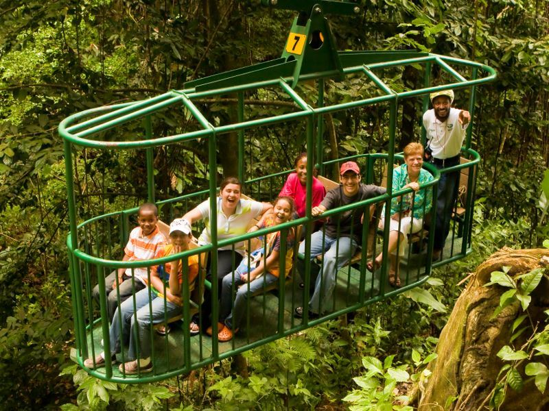 aerial tram st lucia excursion