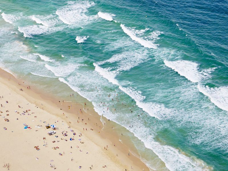 aerial view of gold coast   tourism australia