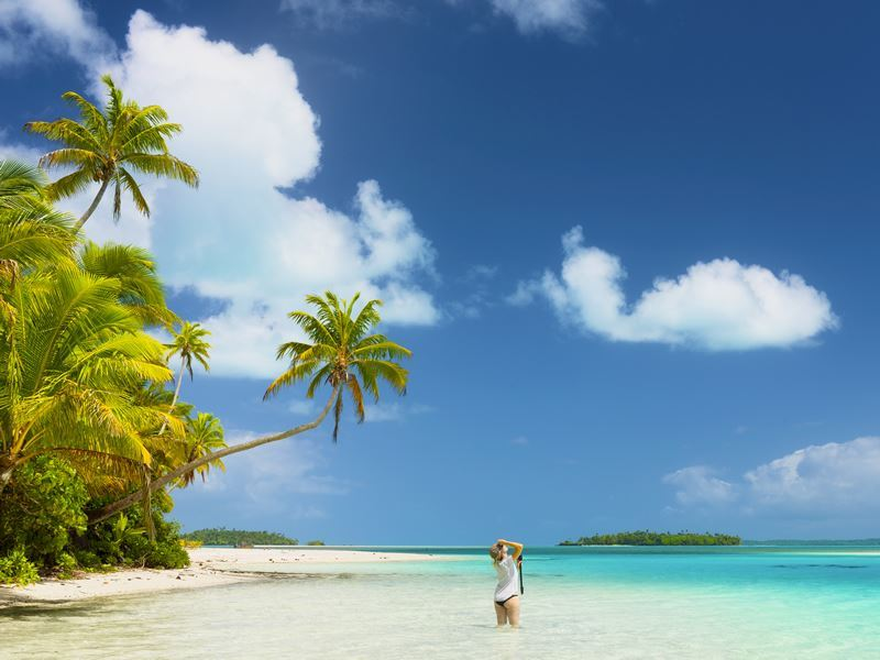 aitutaki blue lagoon cook islands