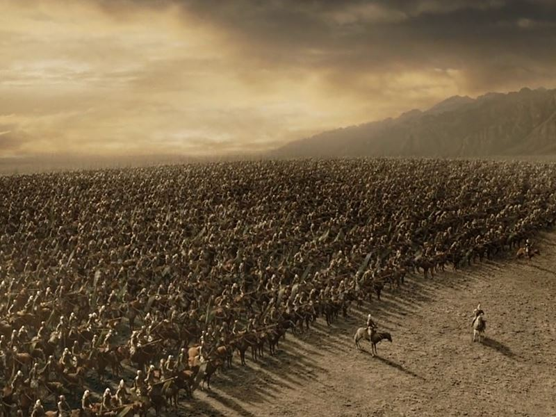 battle pelennor fields