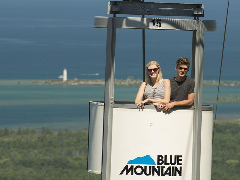 blue mountain gondola ride