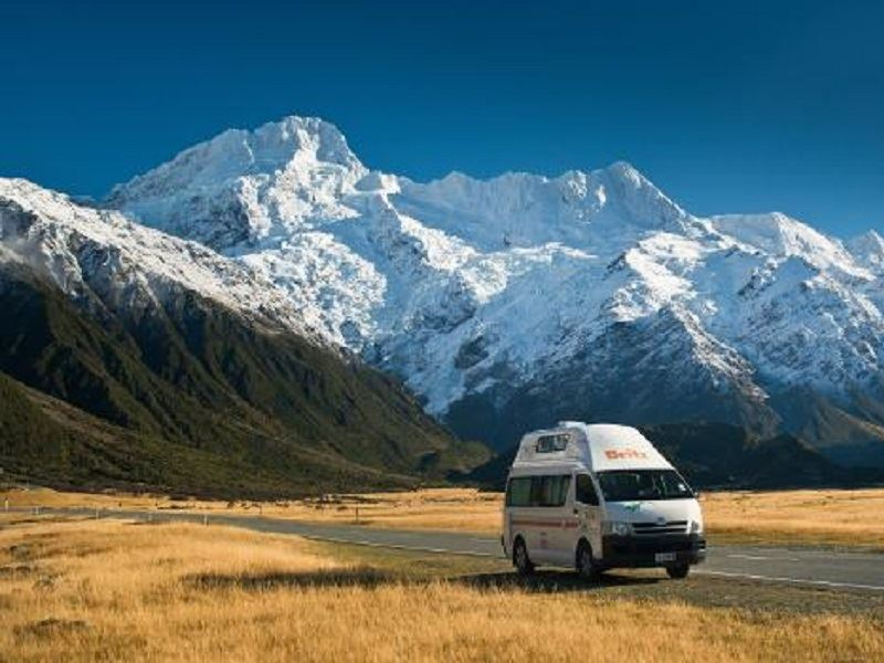 britz voyager at mt cook