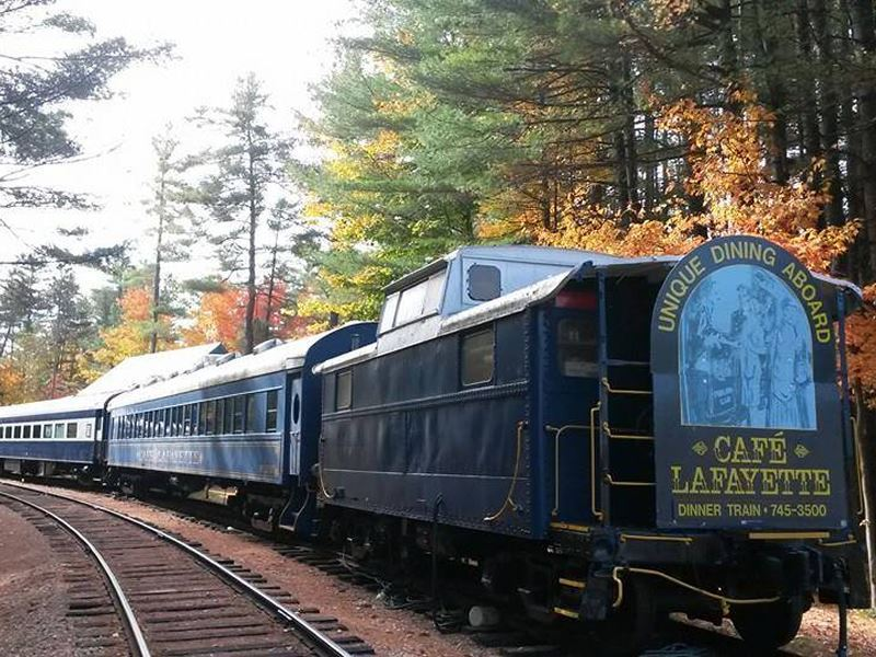 cafe lafayette dinner train new hampshire