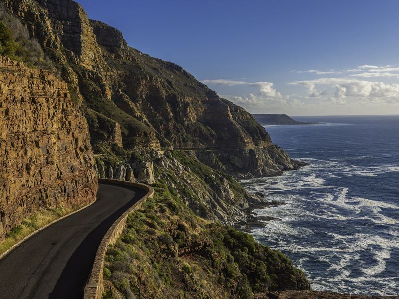 chapmans peak road near cape town
