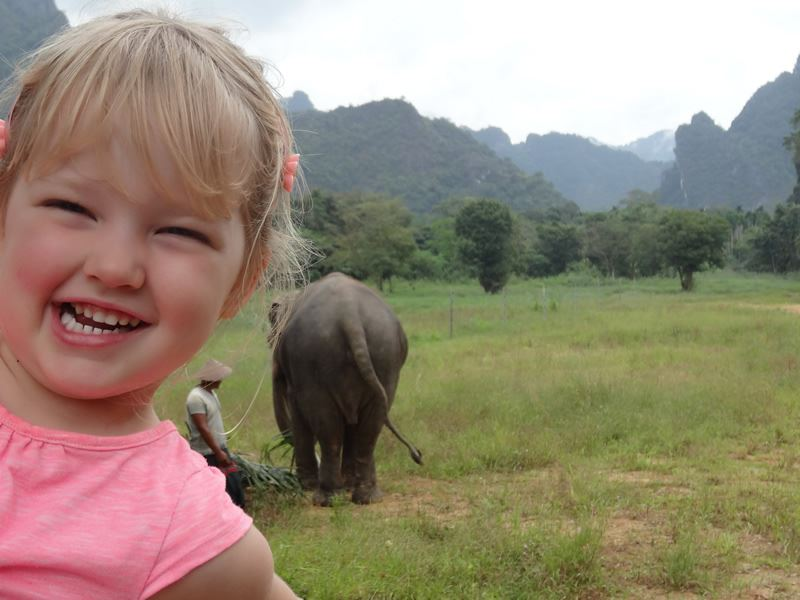 child friendly elephant hills khao sok