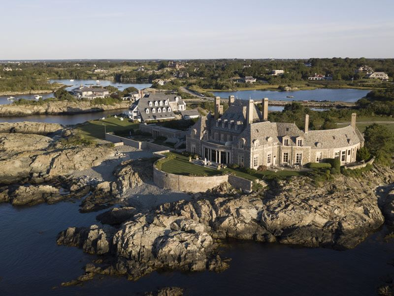 coastal mansions newport