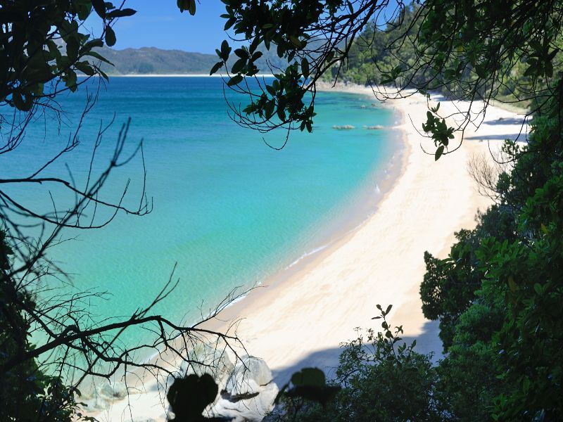 coastal scenery of abel tasman
