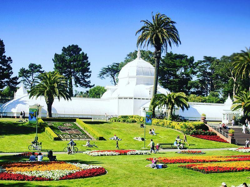 conservatory of flowers golden gate park