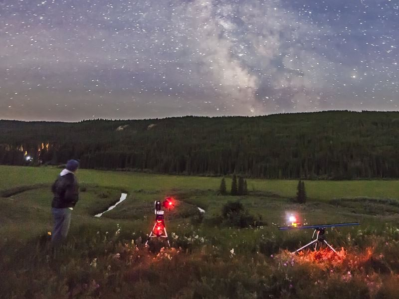 cypress hills interprovincial park dark sky viewing