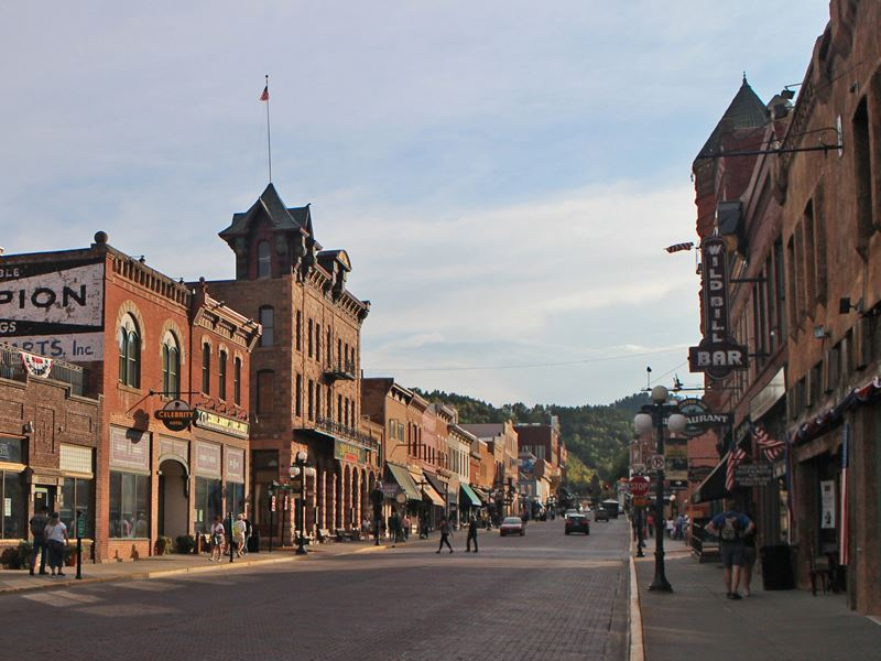 deadwood in south dakota