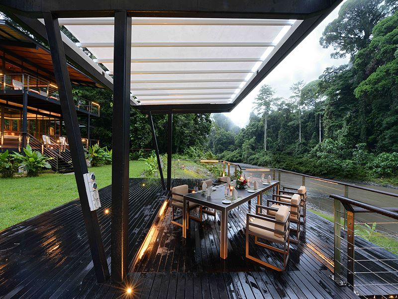 dining experience borneo rainforest lodge