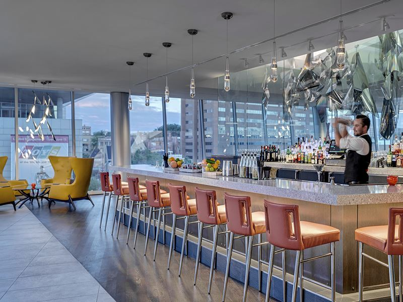 fire bar at the art hotel denver