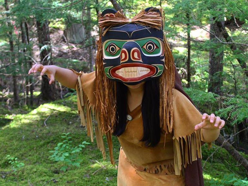 first nations bear dress whistler
