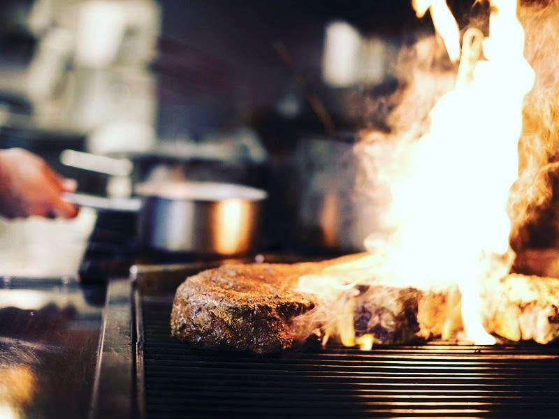 flame grilled steak sidecut whistler