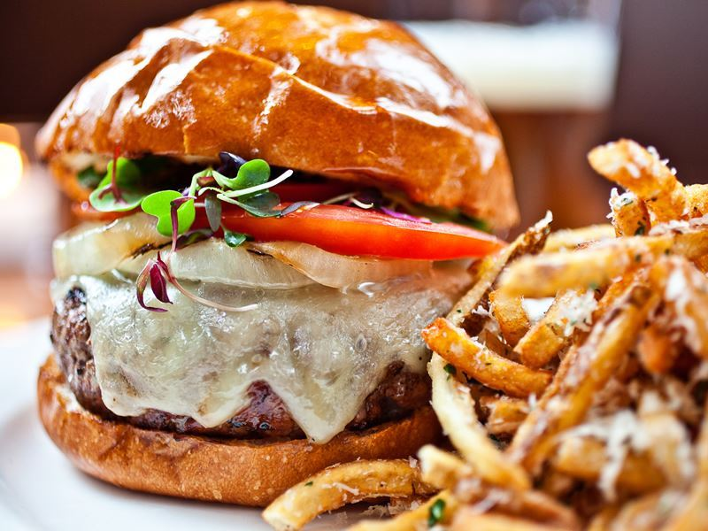 gourmet burger oak steakhouse charleston