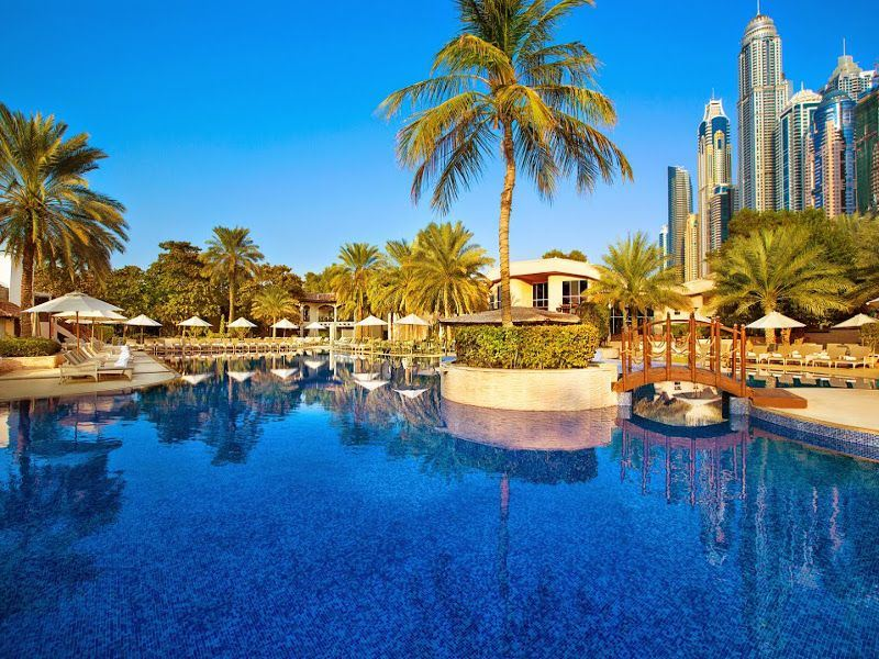 habtoor grand resort  spa pool