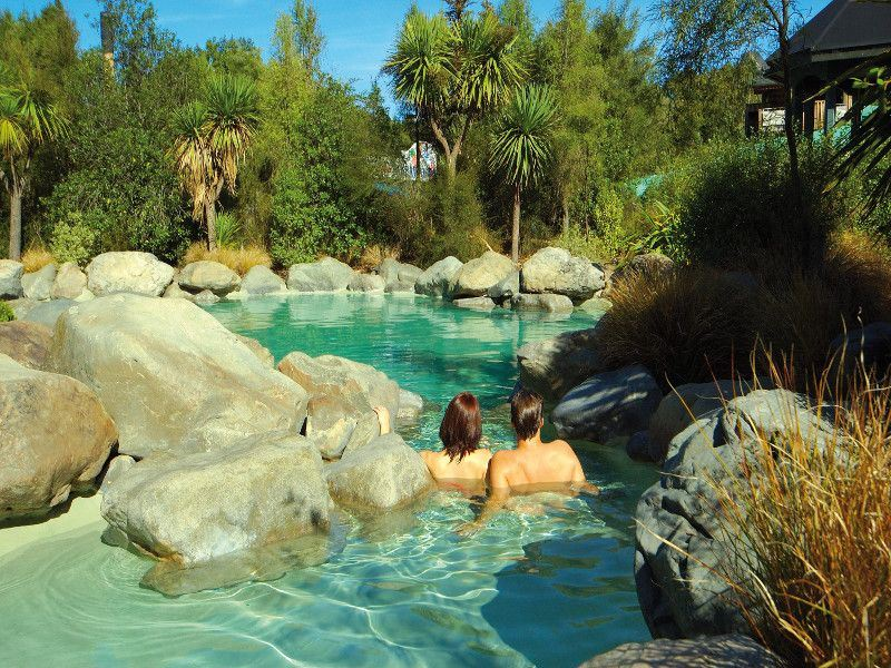 hanmer springs thermal pools    nzt