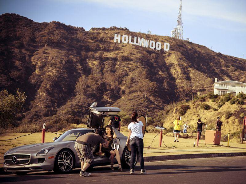 hollywood photoshoot