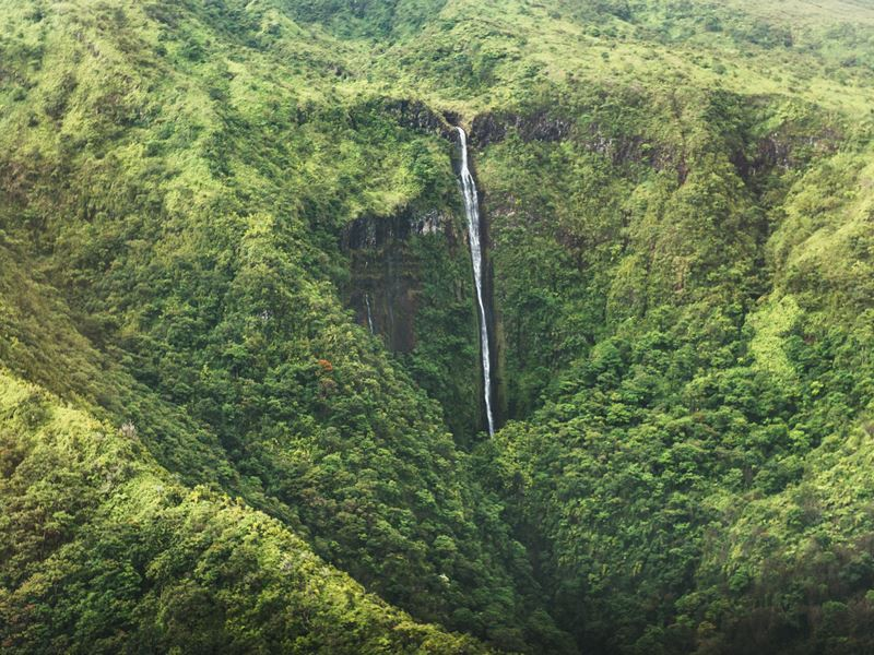 honokohau waterfall maui