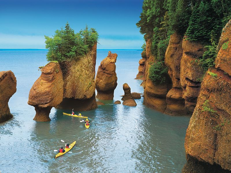 hopewell rocks bay of fundy new brunswick
