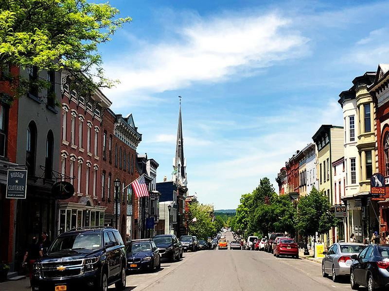 hudson town new york state